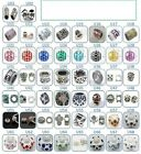 U Charms Spacers Rhinestone European Geocache Jewelry Paracord Charm YOU PICK