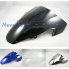 Double Bubble Windscreen Windshield For Suzuki GSXR 1000 K3 2003-2004 ABS Color