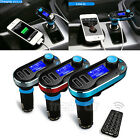 Wired FM Transmitter MP3 Player Car Kit Charger For Samsung iPhone 6 5S 5C
