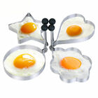 Stainless Steel Egg Mold Pancake Mould Ring Fried Cooking Shaper Kitchen Tools