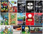 GAMING POSTER Offiziell 61x91.5cm Kabeljau/Minecraft/Mario/Zelda/PS4/Xbox Maxi