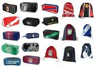 OFFICIAL FOOTBALL CLUB - GYM & SHOE / BOOT BAGS -Focus & Multi Crest Designs *EL