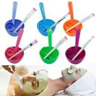 Homemade 4in1 Makeup Beauty DIY Facial Face Mask Bowl Brush Spoon Stick Set JJ