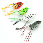 1pc Cute Large Frog Topwater Fishing Lure Crankbait Hooks Bass Bait Tackle Hot
