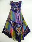 GORGEOUS BIAS SUMMER DRESS IN 10  COLOURS BNWT  0NE SIZE TO FIT SIZES 14-22