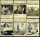 GREAT FUN ~ Humorous BIRTHDAY Cards ~ From The FLEET STREET COLLECTION ~ L@@K ~