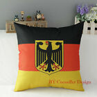 New Home Car Deco Country Pattern Cotton Cushion Cover Square Throw Pillow Case