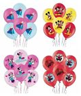 "6 x Kids Character (Premium Print) Latex Balloons 11""/27.5cm (Party/Decorations)"