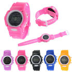 Children Watch Boys Girls Sport Digital Наручные час LCD Electronic Watches Часы