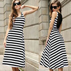 Women Casual Sleeveless Longuette Party Evening Cocktail Beach Cool Dresses