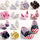 New Baby Infant Boy Girl Anti-Slip Crib Shoes Sandal Sneaker #FK17