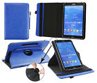 Universal (7 - 8*) 360 Degree Rotating  Wallet Case fits Thomson Touchlet & more