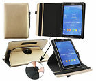 "Universal (7 - 8"") 360 Degree Rotating  Wallet Case fits Thomson Touchlet & more"