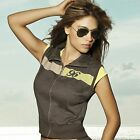 Chamela 15897 Women's Sexy Sporty Vest Color Brown  Talla L, reg.$73.85