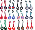 zipper pull pet id charm luggage bag tag MLB PICK YOUR TEAM on Ebay