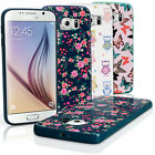 Print TPU Gel Case for Samsung Galaxy S6 SM-G920 Skin Cover + Screen Protector