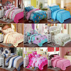 Comfort Twin Full/Queen King Sheet Duvet Cover Pillow Case Bedspread Bedding Set