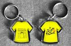 Tour de France t-shirt/jersey keyring Yellow, Polka Dot, Green, White
