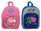 Kids Girls Boys Peppa Pig George School Bag Travel Rucksack Childrens Backpacks