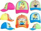 Official Despicable Me Minions Caps Baseball Colorful Summer Beach Kids Teenager