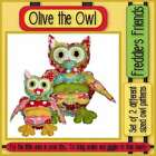 Freddie's Friends: Olive the Owl ~ Softie Stuffed Animal Toy Sewing Pattern