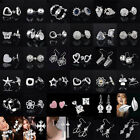 crooks and castles cheap - Wholesale Women 925 Sterling Silver Ear Stud Earrings Cheap Crystal Jewelry Hot