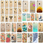 Colorful Transparent Hard Back Pattern Case Cover For iPhone 5 5S 5C 6S 7 7PLUS