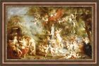 Peter Paul Rubens The Feast of Venus Framed Canvas Print 40.5*x27* (V06-18)