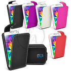 LEATHER CASE FLIP CASE COVER POUCH FOR SAMSUNG GALAXY PHONES