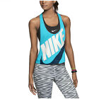 Nike Women's Signal Graphic Crop Tank Top-Bright Teal