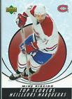 05-06 MCDONALD'S MONTREAL CANADIENS INSERTS U-PICK FROM LIST