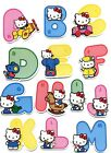 Hello Kitty Cute 3D Alphabet Stickers Raised Relief Sticker 31x48cm
