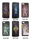 BANDAI Sailor Moon Protect clear Jacket Stend Glass for iPhone5 / 5s from Japan