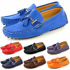 New Men's Casual Loafers Moccasins Slip on Shoes with Tassle in UK Sizes 6-11
