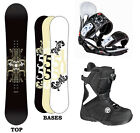 5150 (Ride) DYNASTY Womens 154cm Womens Snowboard+Bindings+Flow BOA Boots NEW