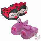 Children's Animated Walk Slippers, Kids Size Girls, Boys Fun Magic Movers