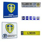 LEEDS METAL SIGNS (Metal Door Sign, Street Sign)Official Club Merchandise