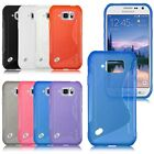 S Line Soft Gel TPU Silicone Case Cover For Samsung Galaxy S6 Active / SM-G890