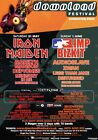 DOWNLOAD FESTIVAL 2003 Iron Maiden Limp Bizkit PHOTO Print POSTER Audioslave 020