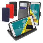 Slim Flip Stand Wallet Leather Case For Vodafone Smart ULTRA 6 Credit Card Slots