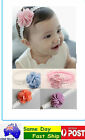 Floral cute Cotton Headbands Hair Accessories Band Toddlers Baby Children flower
