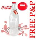 GIANT 2FT OFFICIAL COCA COLA PLASTIC MONEY SAVING BOTTLE WITH REMOVAL TOP BANK