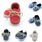 Baby Infant Kids Boy Girls Soft Sole Cotton Sneaker Toddler Crib Shoes 0-18M D86