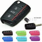 Silicone Arabesquitic Car Key Cover Case For 2014-2015 VW Golf MK7 Protection