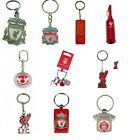 OFFICIAL LIVERPOOL FOOTBALL CLUB KEYRINGS (Crest, Spinner,Metal Key Ring) (Gift)