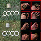 New Mens Metal Ring Outdoor Tool Glove Pocket Finger Buckle Magic Alloy Rings