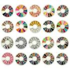 3D Nail Art Rhinestones Glitters Acrylic Tips Decoration Manicure Wheel