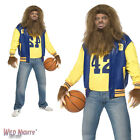HALLOWEEN FANCY DRESS # 1980'S ADULT TEEN WOLF COSTUME
