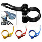 MTB Bike Bicycle Cycling Saddle Seat Post Clamp Quick Release Alloy Style 34.9mm