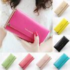 New Retro Womens Chic Purse Clutch Long Wallet PU Bag Card Holder Handbags gift